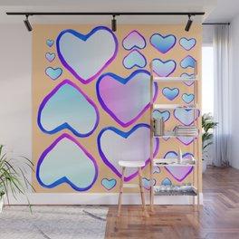 Coeur douceur Wall Mural