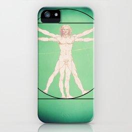 Vitruve iPhone Case
