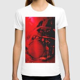 RED DIRTBIKE ENGINE T-shirt