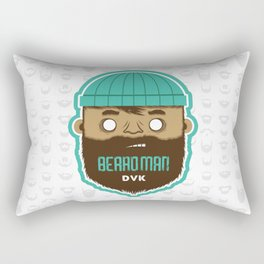 B E A R D M A N Rectangular Pillow