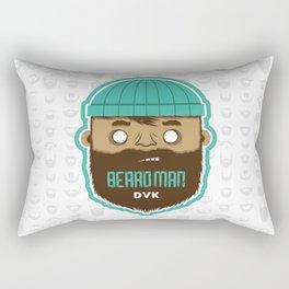 B E A R D M A N Rectangular Pillow
