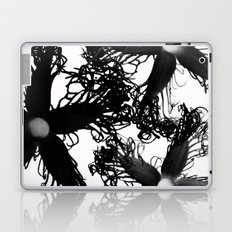 Three Black Flowers Laptop & iPad Skin