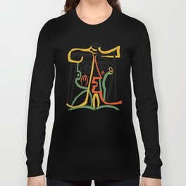 Picasso - Woman's head #1 Long Sleeve T-shirt