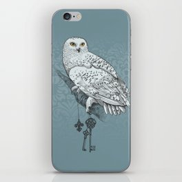 Secrets of the Snowy Owl iPhone Skin