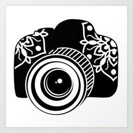 Camera Design Art Print