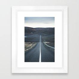 Midnight Driving part 1 Framed Art Print