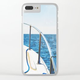 Mid Summer Dream Clear iPhone Case