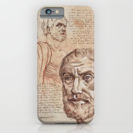Aristotle iPhone Case