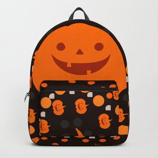 Halloween pumpkin pattern Backpack