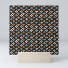 Las Flores 01 (Patterns Please) Mini Art Print