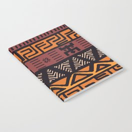 Tribal ethnic geometric pattern 021 Notebook