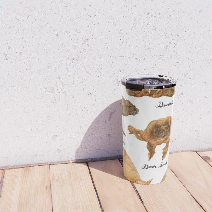 the furnished walrus Travel Mug