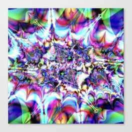 Seeing Soudwaves Canvas Print