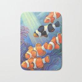 Clownfish Paradise Bath Mat