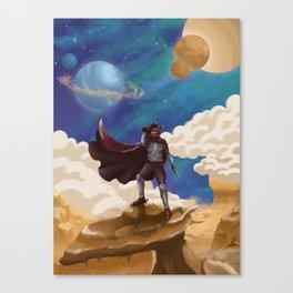 Space Cowboy Canvas Print
