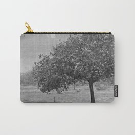 Raining in Tulum B&W Carry-All Pouch