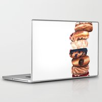 donuts Laptop & iPad Skins featuring Donuts! by Sam Luotonen
