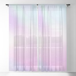Cotton Candy Sheer Curtain