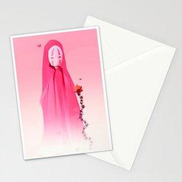 Kaonashi-Valentines Stationery Cards