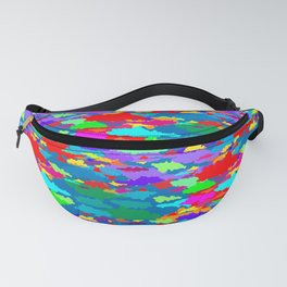 Neon Clouds Fanny Pack