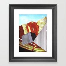 Geometrafuge Framed Art Print