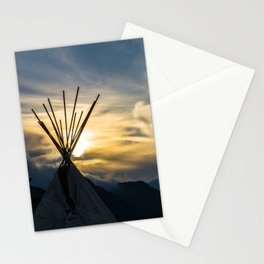 Alaskan Campout Stationery Cards
