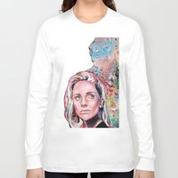 sunset Long Sleeve T-shirts featuring Sunset by Veronika Weroni Vajdová