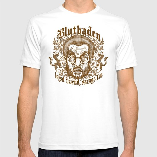 Blutbaden Sepia T-shirt