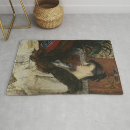 Marie Constantine Bashkirtseff - The Artist's Sister-in-law Rug