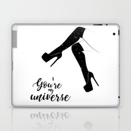 My universe heels Laptop & iPad Skin