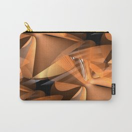 3D abstraction -17- Carry-All Pouch