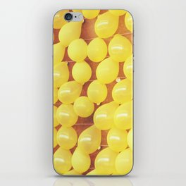Yellow Balloons POP Art iPhone Skin