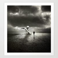 Silent Angel Art Print