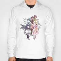 madoka magica Hoodies featuring Puella Magi Madoka Magica - Only You by Yue Graphic Design