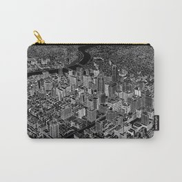 Philadelphia in BW Carry-All Pouch