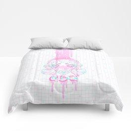 Strawberry Milk Comforters