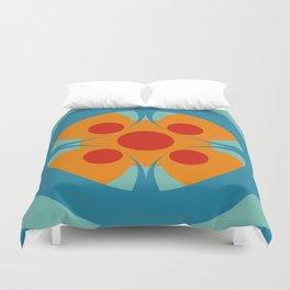 Colorful Genuine Circle Cipactli Duvet Cover