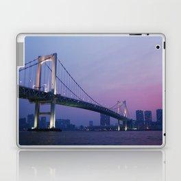 Tokyo Rainbow Bridge Laptop & iPad Skin