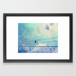 """Free as a Bird"" Framed Art Print"