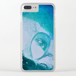 Environmental Starfish Bubbles # 15 Clear iPhone Case