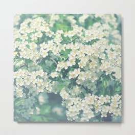 White flower dream Metal Print