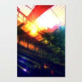 Terminal at Sunset Canvas Print