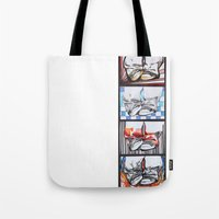 converse Tote Bags featuring Converse by Creo