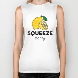 Squeeze the Day Biker Tank