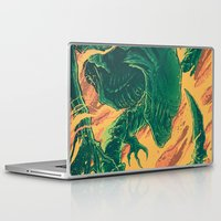 bitch Laptop & iPad Skins featuring YOU BITCH! by MindkillerINK