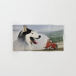 Andy Hateley and Wolf Gonzo Hand & Bath Towel