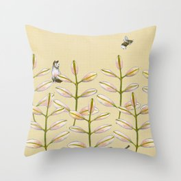 Forest Dwellers - Flora & Fauna Throw Pillow