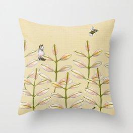 Forest Dwellers - Flora & Fauna Throw Pillow