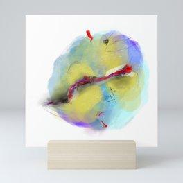 unsettled Mini Art Print