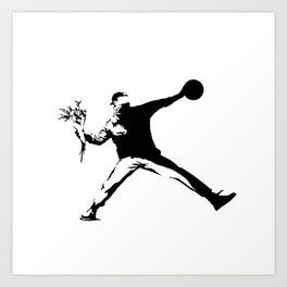 #TheJumpmanSeries, Banksy Art Print